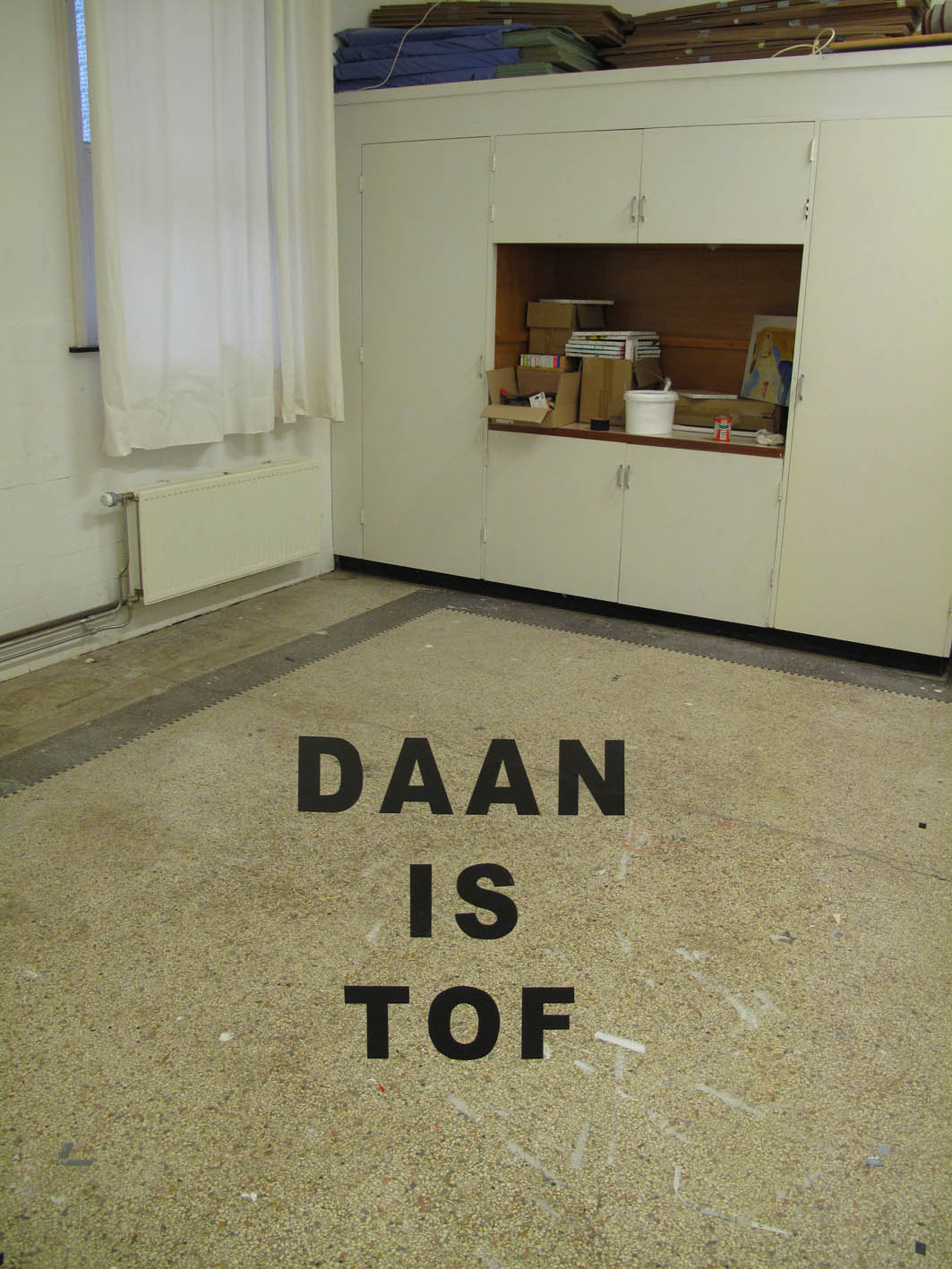 DAAN IS TOF – Correction On Jan Dibbets Perspective Correction