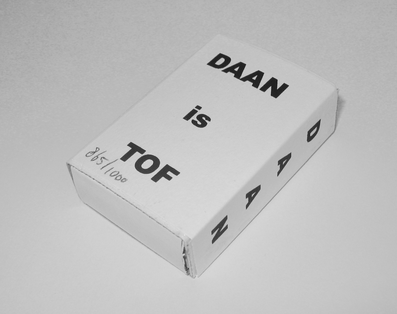 DAAN IS TOF – Matchbox